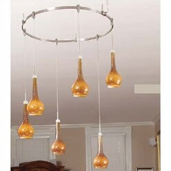 lbl lighting monorail 6 light circle track kit wayfair