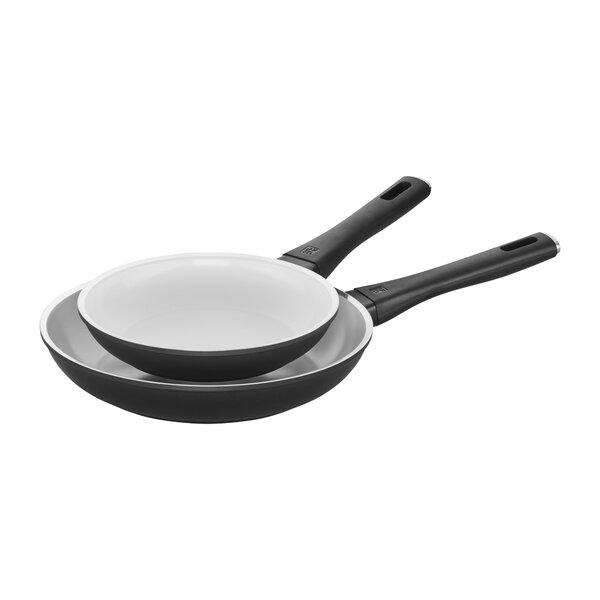 Carrara 2 Piece Frying Pan Set by Zwilling JA Henckels