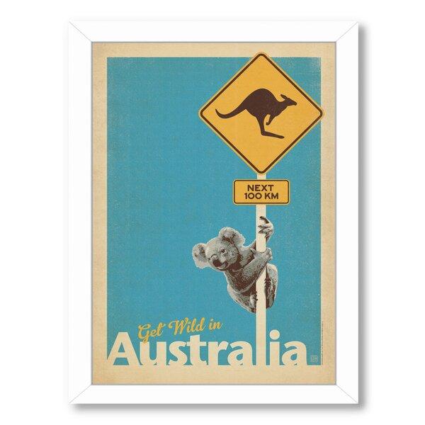 Koala Framed Vintage Advertisement by East Urban Home