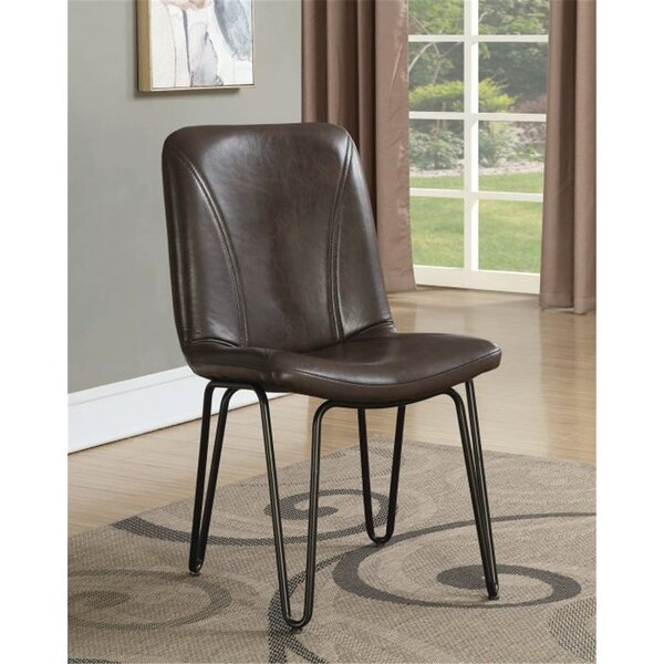 Pittenger Upholstered Dining Chair (Set of 4) by Union Rustic