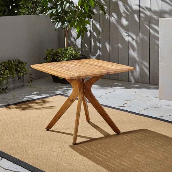 Becker Solid Wood Dining Table by George Oliver