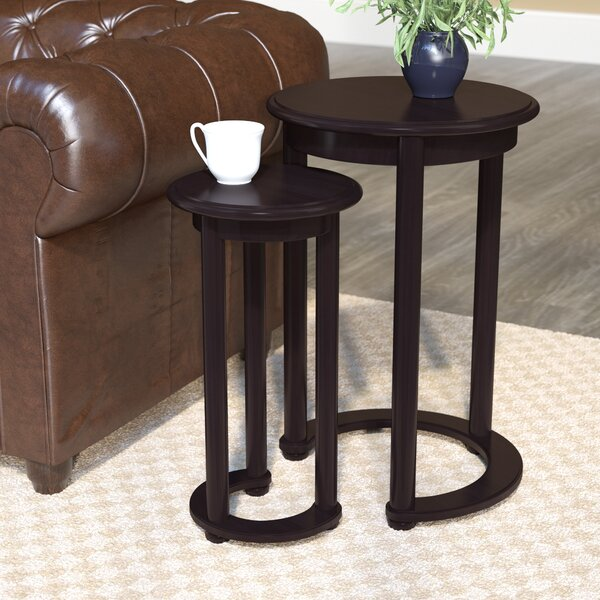 Vaughn 2 Piece Nesting Tables by Charlton Home