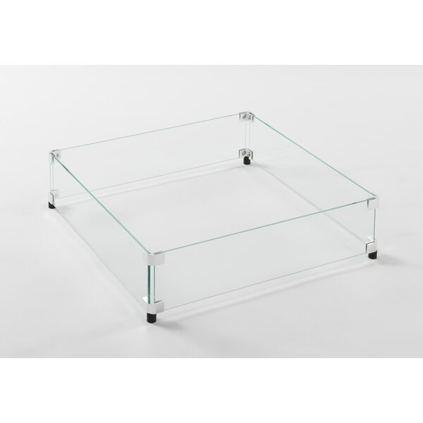 Fire Pit Glass Guard by The Outdoor GreatRoom Company