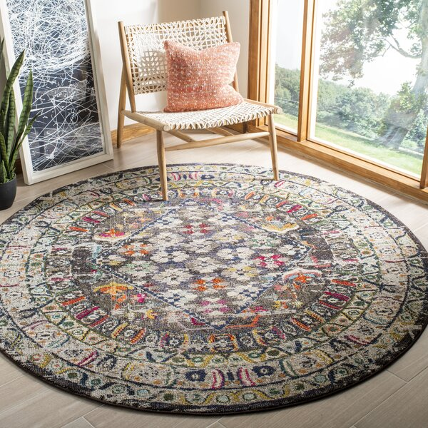 Arianna Brown/Gray Area Rug by Bungalow Rose