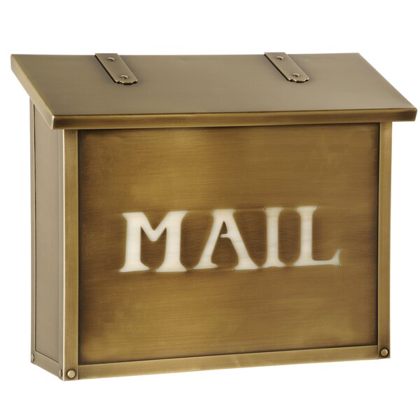 Classic Wall Mounted Mailbox by America's Finest Lighting Company