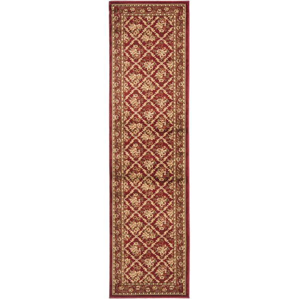 Taufner Red Area Rug