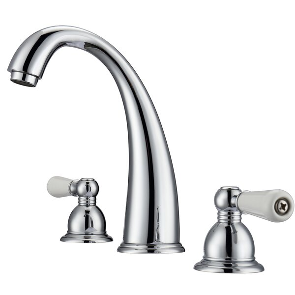 Maddox Lavatory Widespread Bathroom Faucet by Barclay