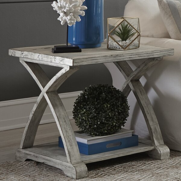 Garth End Table by Gracie Oaks