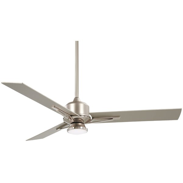 56 Metropolis 3 Blade LED Ceiling Fan with Remote by Minka Aire