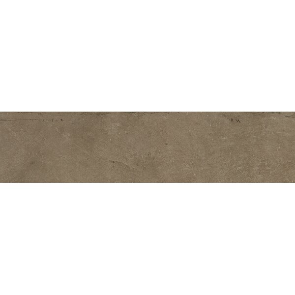 Fairfield 6 x 24 Porcelain Field Tile in Noce by Itona Tile