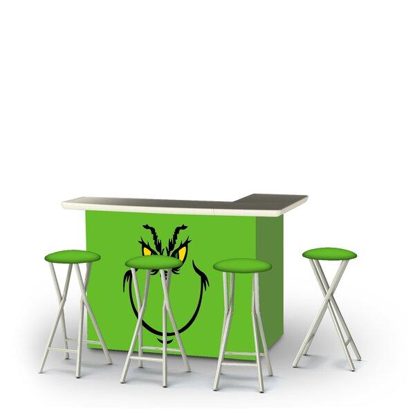 Addyston Christmas Grinch 5-Piece Bar Set by East Urban Home