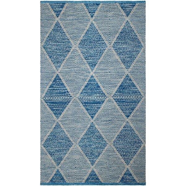 Kara Blue/Gray Indoor/Outdoor Area Rug by Bungalow Rose
