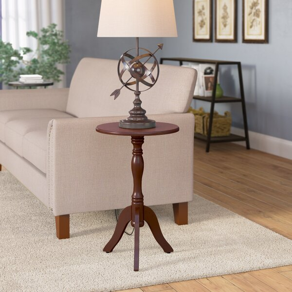 Adeline Pedestal End Table By Andover Mills