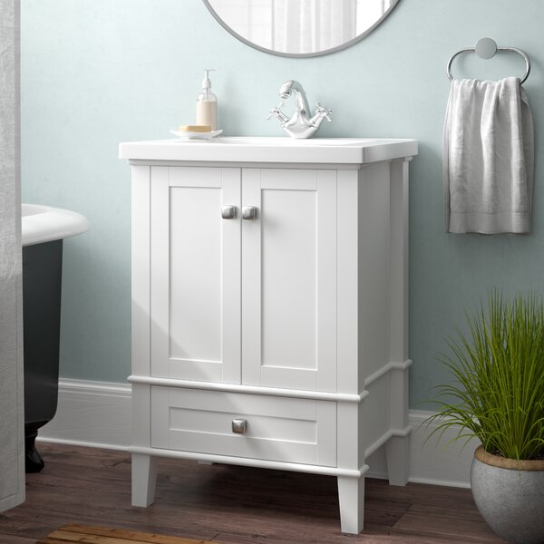Modena 24 Single Bathroom Vanity Set by Andover MillsModena 24 Single Bathroom Vanity Set by Andover Mills