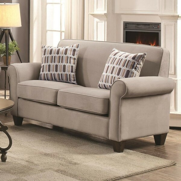 Betancourt Contemporary Loveseat by Charlton Home