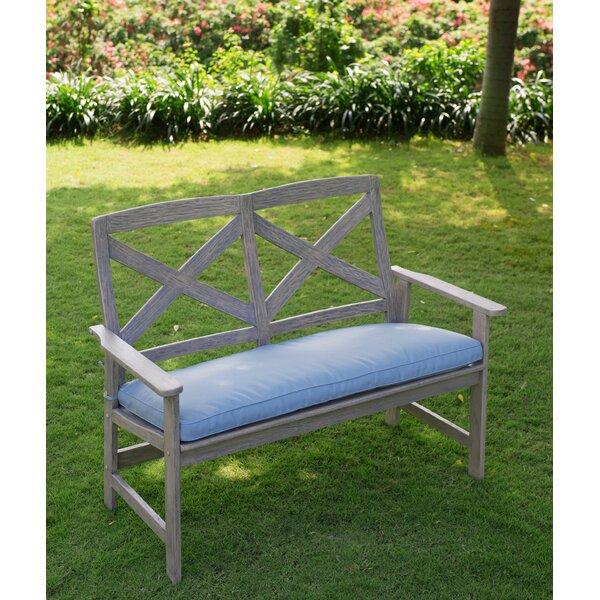 Englewood Wood Garden Bench by Beachcrest Home