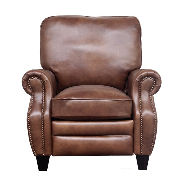Loar Leather Manual Recliner By Darby Home Co