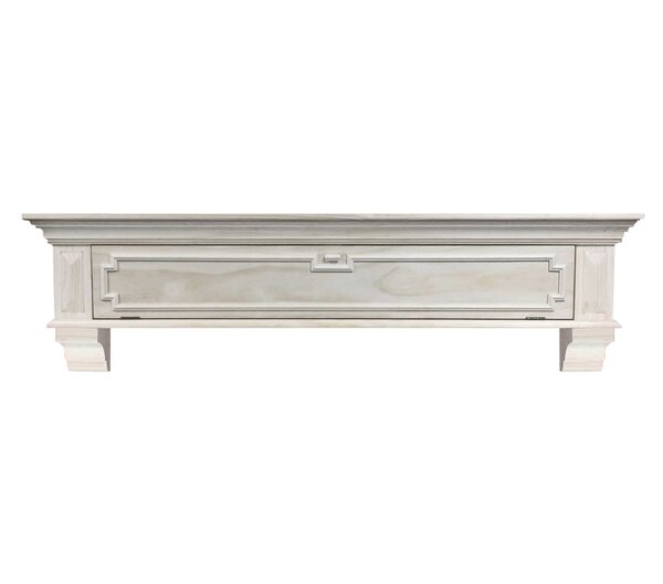 Thomas Drop Front Fireplace Shelf Mantel by Pearl Mantels