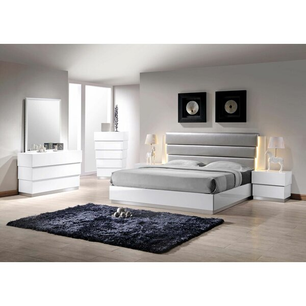 Langridge Platform 5 Piece Bedroom Set by Wade Logan
