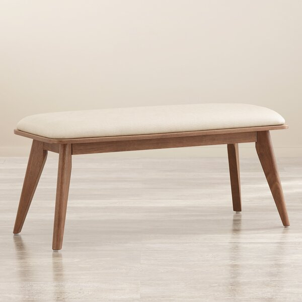 Leominster Upholstered Bench by Langley Street