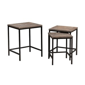 17 Stories Robbe 3 Piece Nesting Tables
