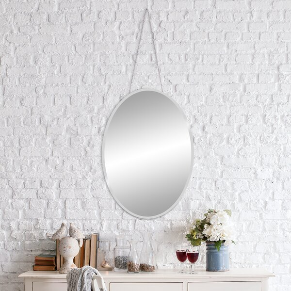 Mcglade Accent Mirror by Wrought Studio