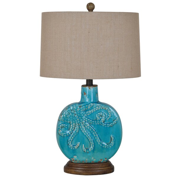 Ovgoros Deep Ocean 25 Table Lamp by Bay Isle Home