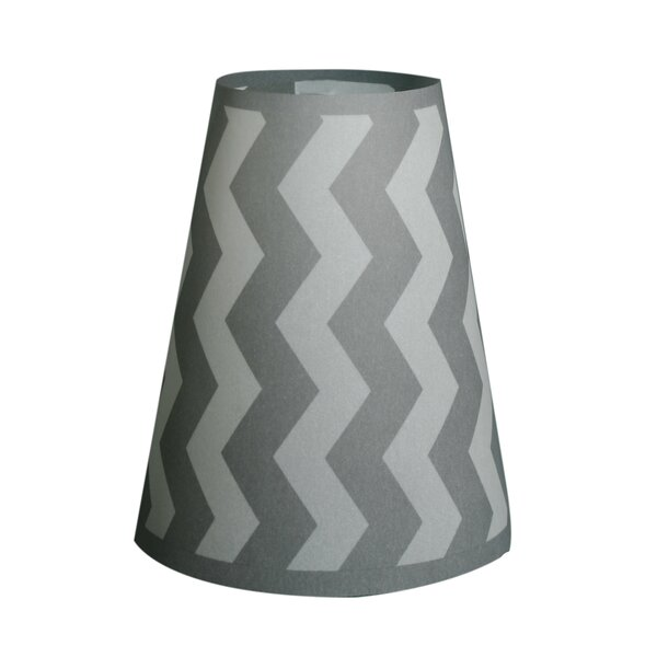 5.5 H Paper Empire Lamp Shade in Gray (Set of 20)