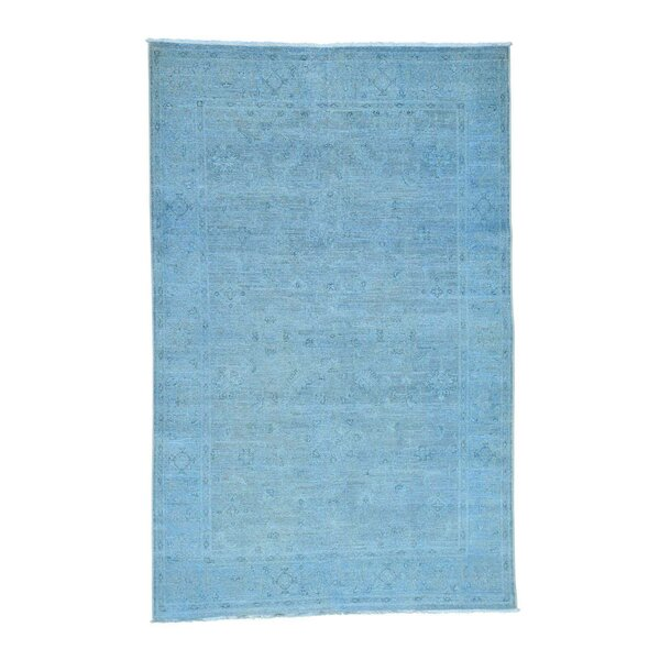 One-of-a-Kind Bagby Overdyed Oriental Hand-Knotted Area Rug by Isabelline