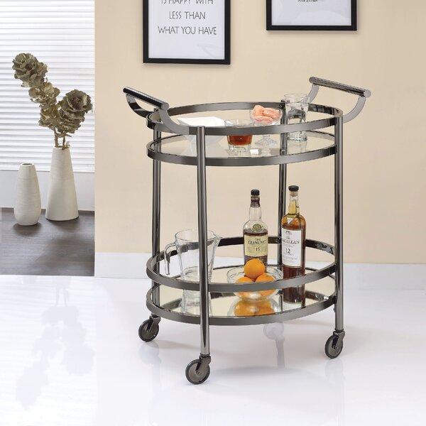 Hennen Bar Cart By Everly Quinn