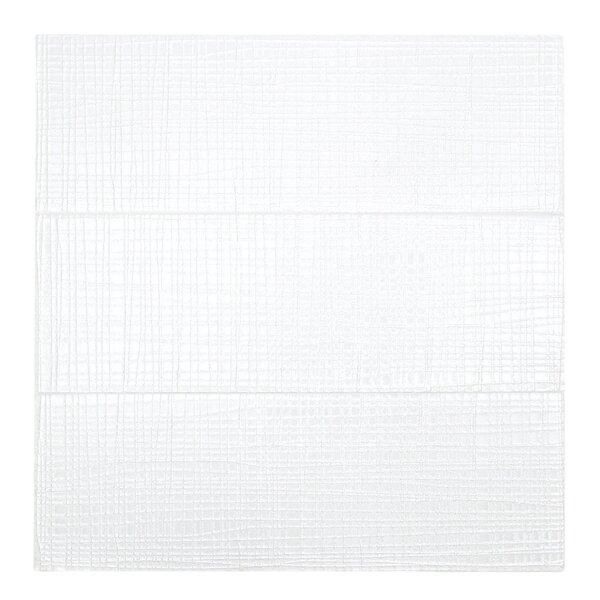 Midtown Sense 4 x 12 Glass Subway Tile in White by Splashback Tile