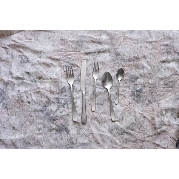 Lille 40 Piece 18/10 Stainless Steel Flatware Set, Service for 8 by Canvas Home
