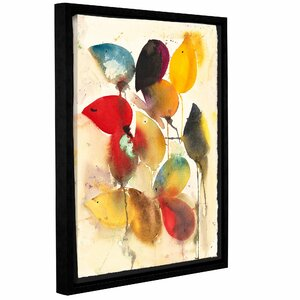 Mice by Karin Johannesson Framed Painting Print on Canvas by ArtWall