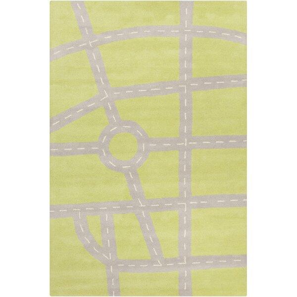 Millwood Hand Tufted Wool Green/Gray Area Rug by Latitude Run