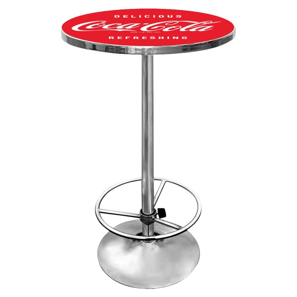 Coca-Cola Pub Table By Trademark Global Best Choices