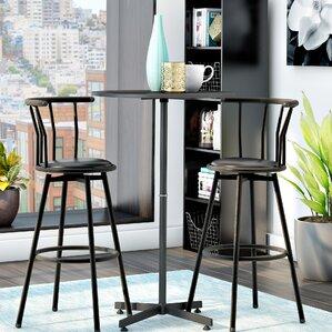 Mavis 3 Piece Pub Table Set by Zipcode Design