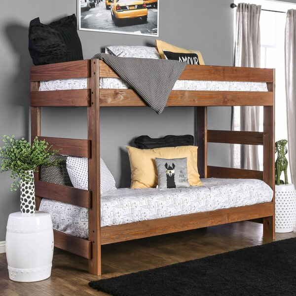 Martine Icom Twin Bunk Bed by Harriet Bee