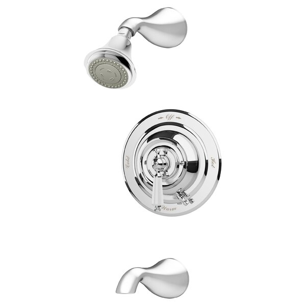 Carrington Diverter Tub and Shower Faucet with Trim by Symmons Symmons