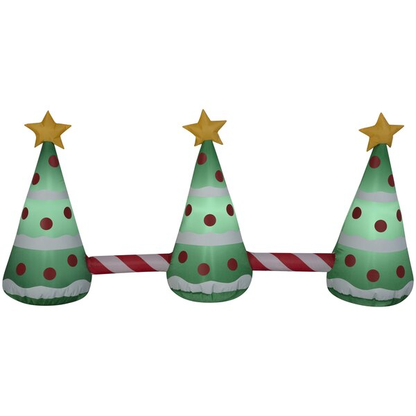 Pathway Christmas Tree Inflatable by The Holiday A