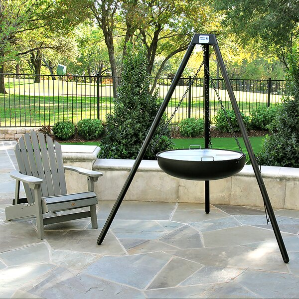 Trail Steel Charcoal Fire Pit by 3 Embers