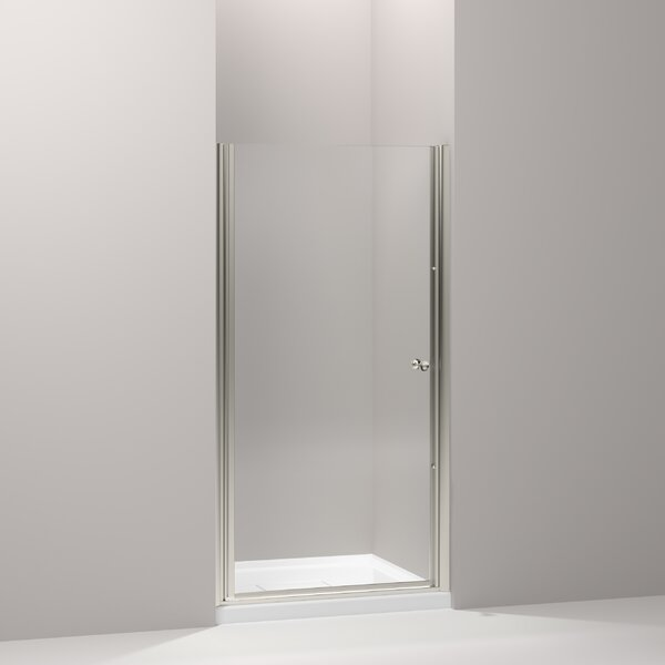 Fluence 39 x 65.5 Pivot Shower Door with CleanCoat® Technology by Kohler