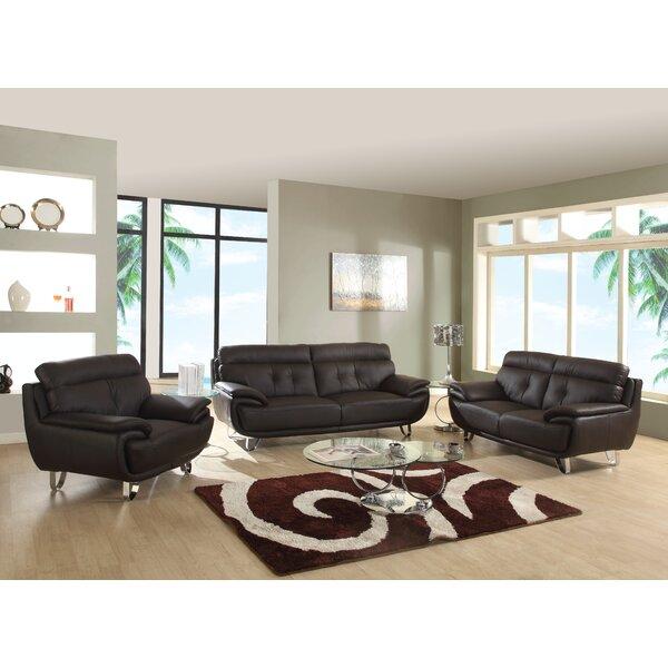 Dangelo 3 Piece Living Room Set (Set of 3) by Orren Ellis