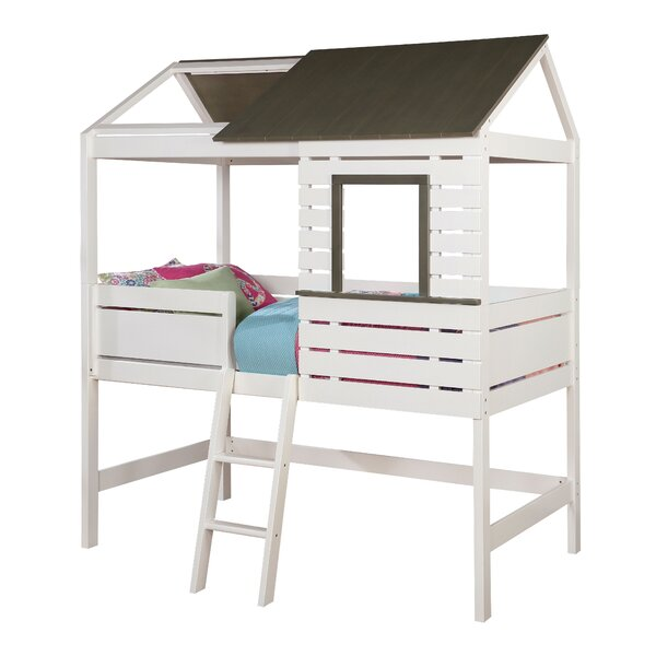 Eliseo Canopy Bed by Zoomie Kids
