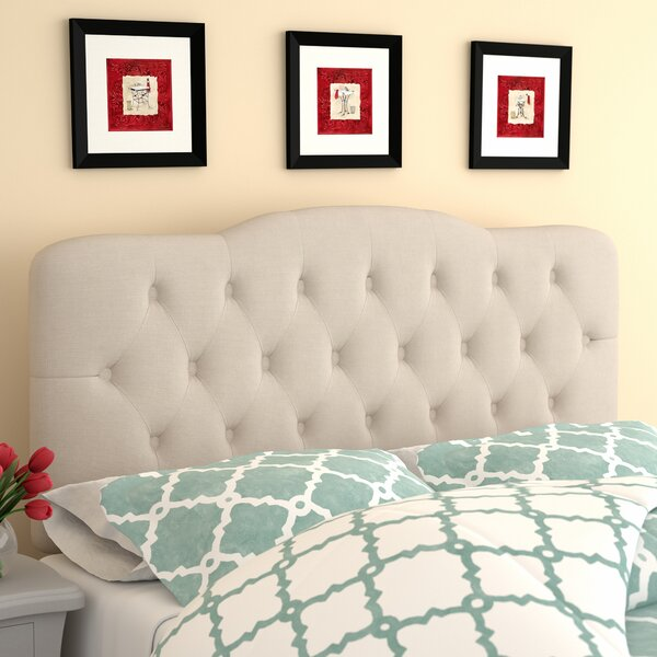 Minneapolis Arch Upholstered Panel Headboard by Ch