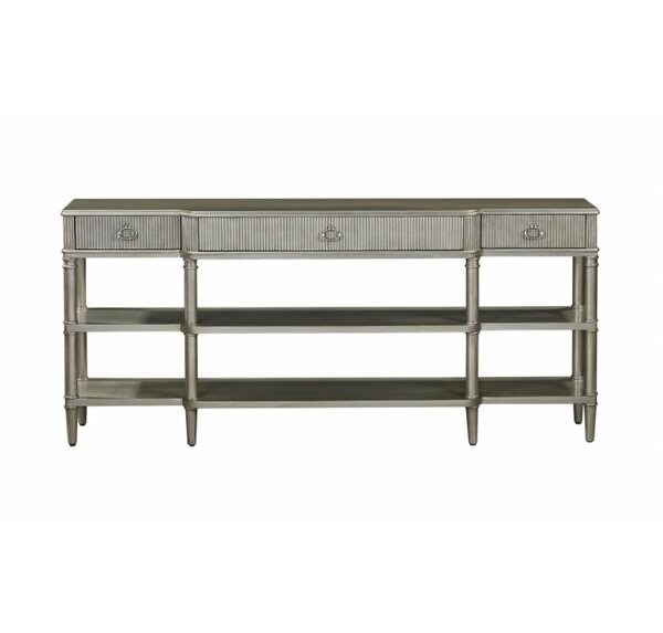Gorman Breakfront Console Table by Bayou Breeze
