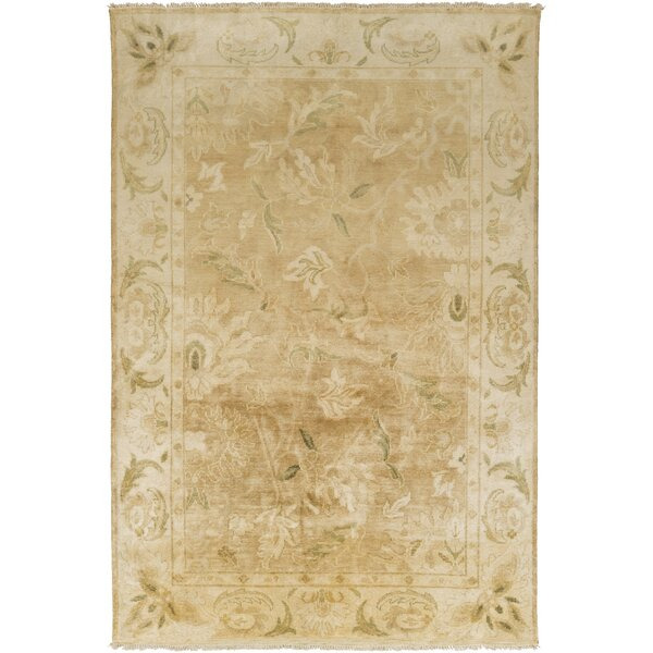 Talence Light Brown/Olive Area Rug by One Allium Way
