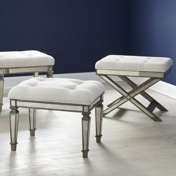Bradford Bench Vanity Stool by Birch Lane™
