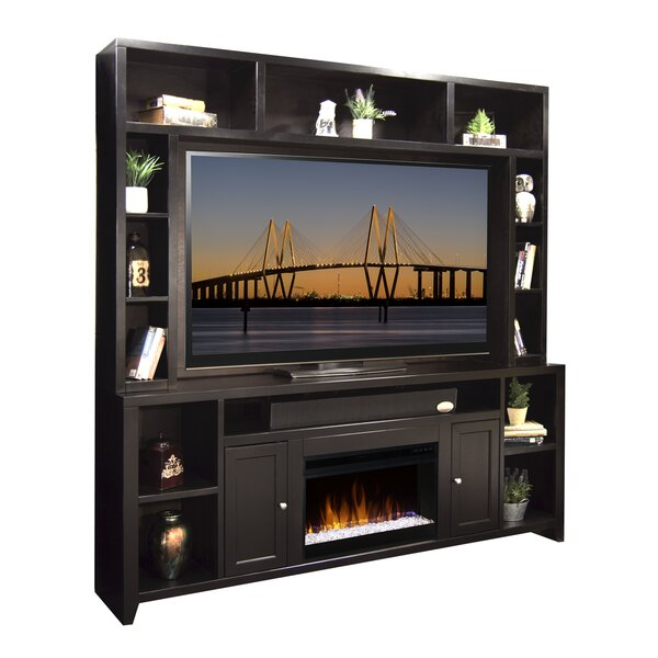 Garretson 84 TV Stand with Fireplace by Darby Home