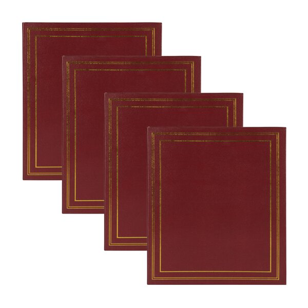 Traditional Photo Album (Set of 4) by Red Barrel Studio