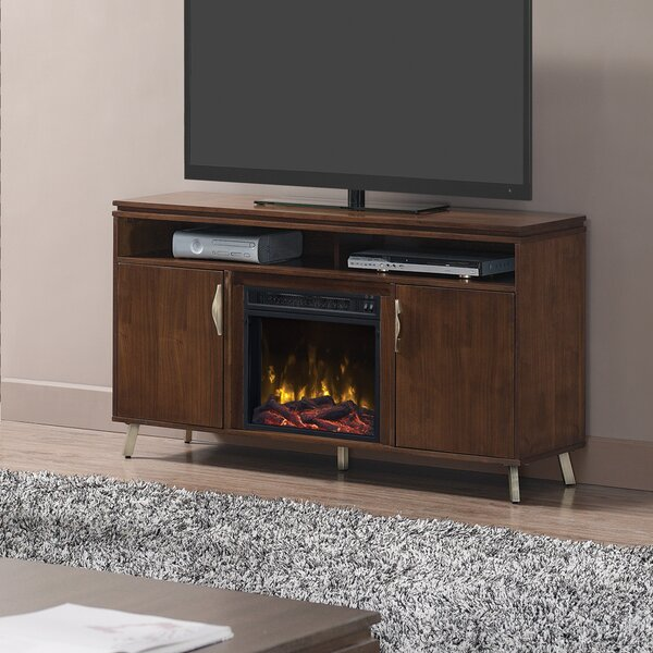 Madiun TV Stand with Electric Fireplace by Red Barrel Studio